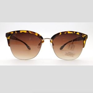 Tahari Cat Eye Tortoise Sunglasses